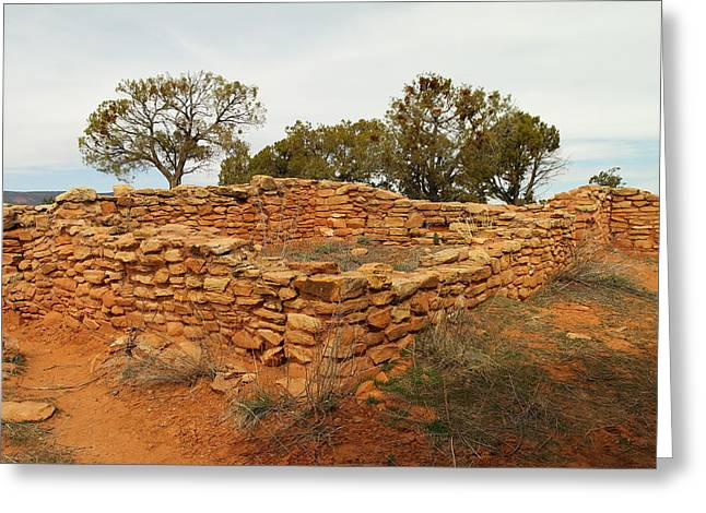 Anasazi Ruins Southern Utah Greeting Card by Jeff Swan