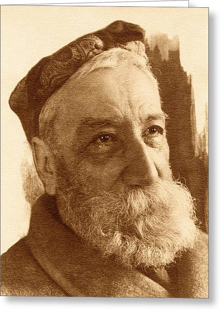 Anatole France Greeting Card by American Philosophical Society