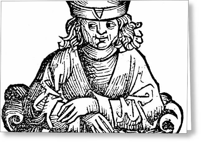 Anaximander Greeting Card