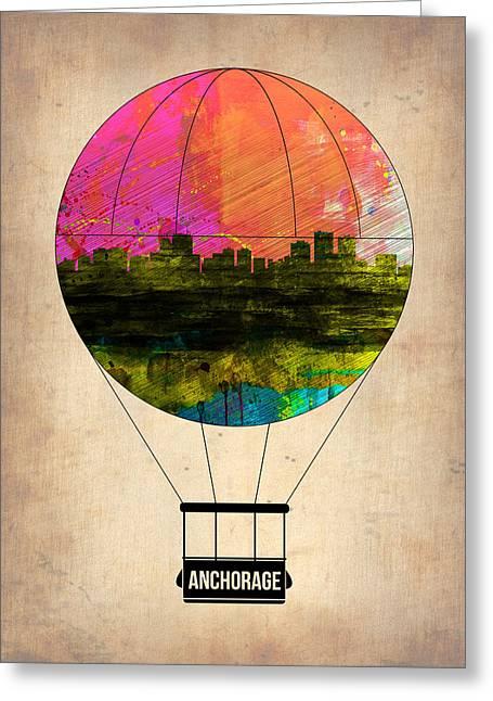 Anchorage Air Balloon  Greeting Card