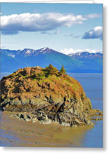 Anchorage Alaska Greeting Card