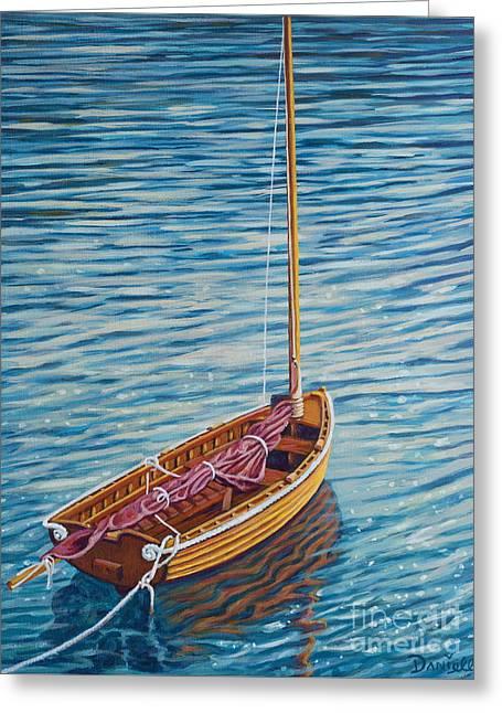 Anchored Dreams Greeting Card