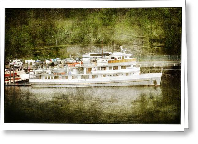Greeting Card featuring the photograph Anchors  Away by Davina Washington