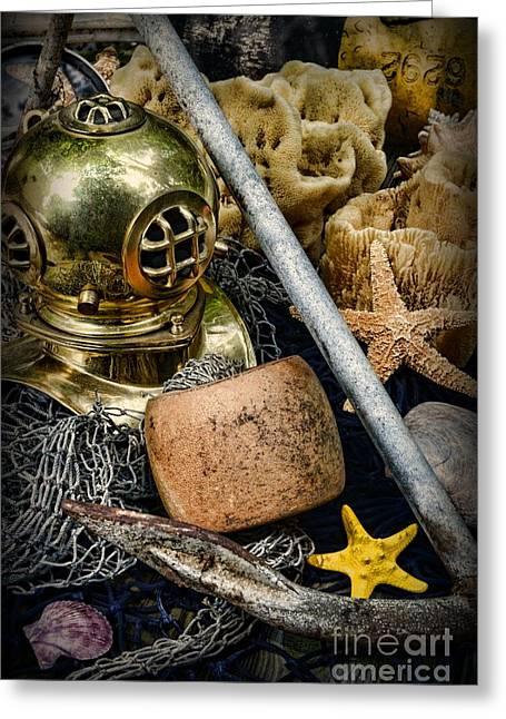 Anchors Aweigh Greeting Card by Paul Ward