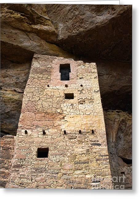 Ancient Architecture Greeting Card by Jill Battaglia