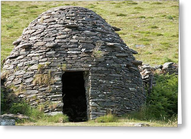 Ancient Beehive Hut Greeting Card by Sinclair Stammers