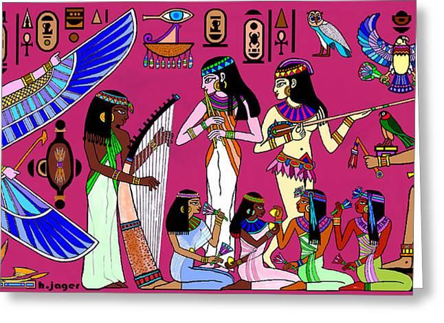 Ancient Egypt Splendor Greeting Card