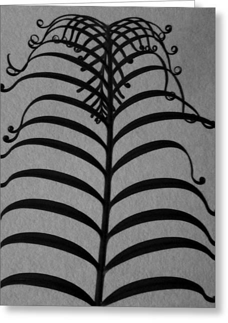 Ancient Filagree Greeting Card