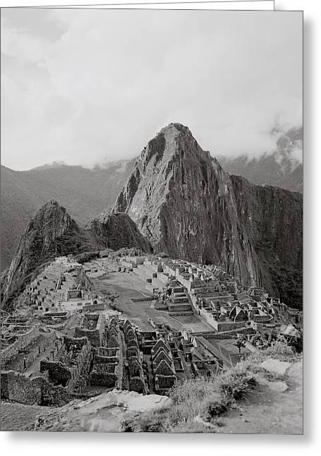 Ancient Machu Picchu Greeting Card