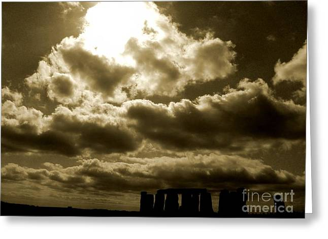 Greeting Card featuring the photograph Ancient Mystery by Vicki Spindler