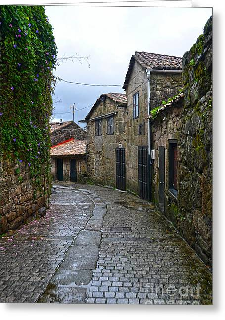 Ancient Street In Tui Greeting Card