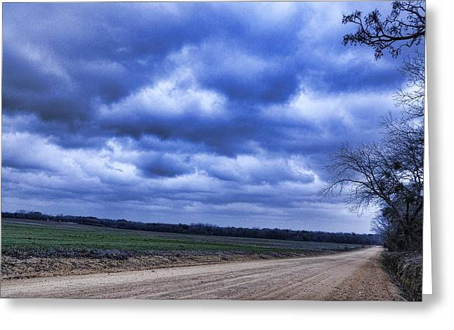 And The Thunder Rolls Greeting Card by Jan Amiss Photography