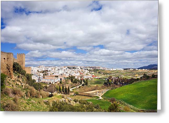 Andalucia And Ronda Greeting Card by Artur Bogacki