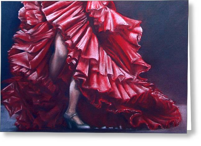 Andalucia Flamenco Greeting Card