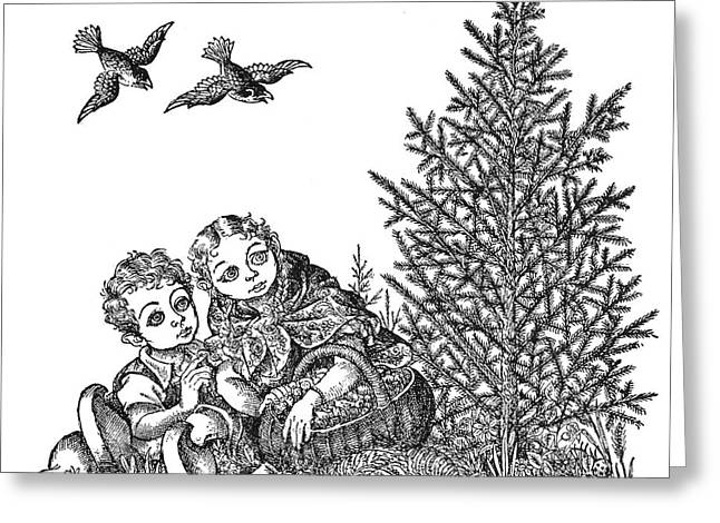 Andersen The Fir Tree Greeting Card by Granger