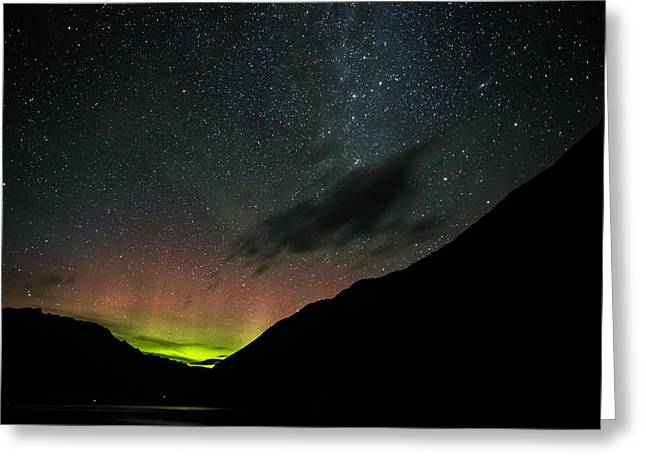 Anderson Lake Magic Greeting Card by Pierre Leclerc Photography