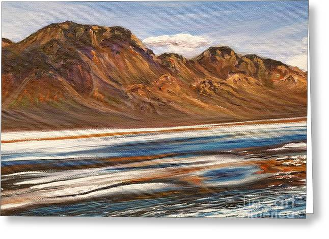 Andes Mountains Two Greeting Card by Gayle Utter
