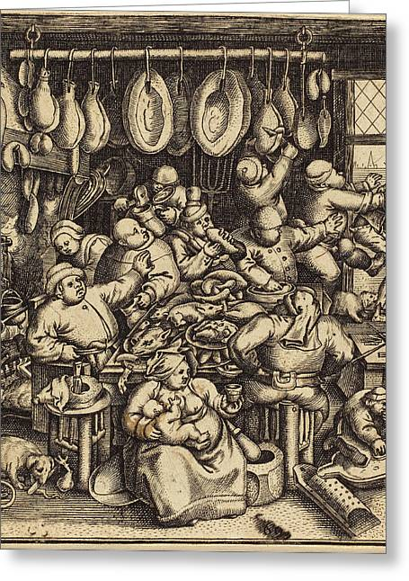 Andreas Bretschneider IIi German Greeting Card by Quint Lox