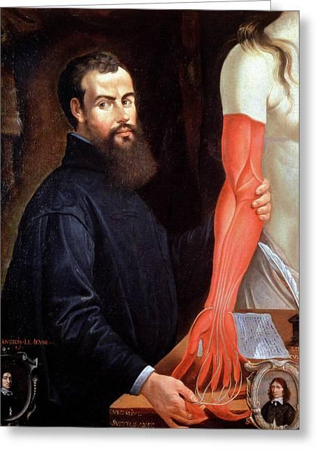 Andreas Vesalius Greeting Card
