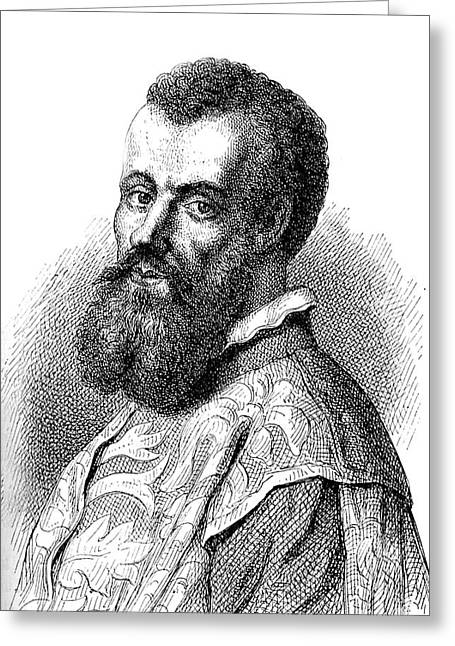 Andreas Vesalius Greeting Card by Collection Abecasis