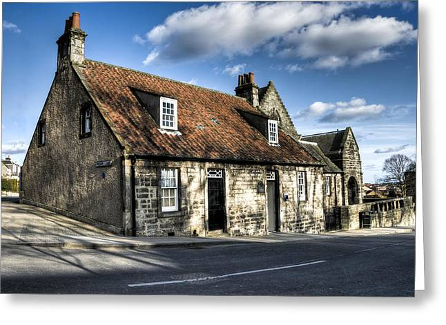 Andrew Carnegie's Birthplace Greeting Card by Ross G Strachan