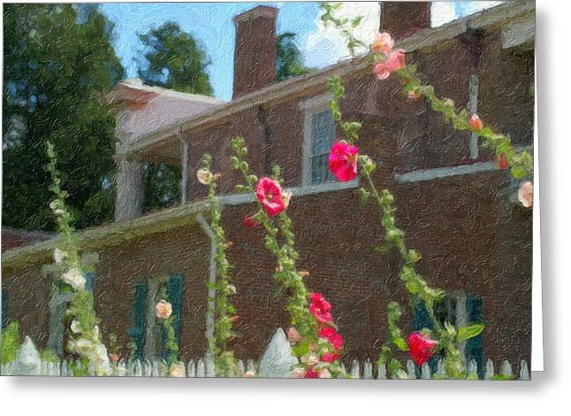 Andrew Jackson Home Greeting Card
