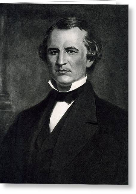 Andrew Johnson  Greeting Card by American School