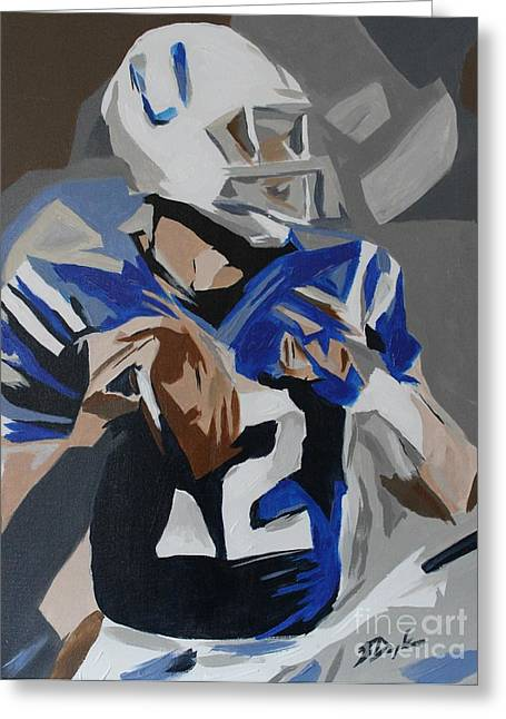 Andrew Luck 2013 Greeting Card