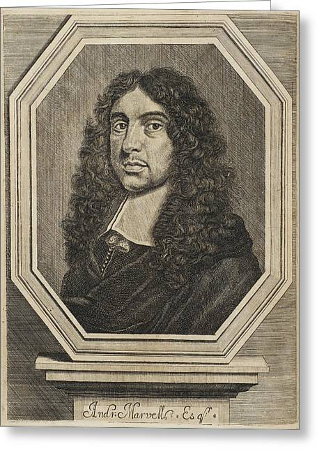 Andrew Marvell Greeting Card