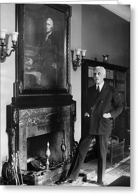 Andrew Mellon (1855-1937) Greeting Card by Granger