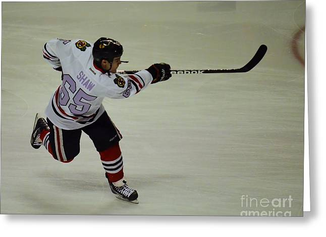 Greeting Card featuring the photograph Andrew Shaw Fights Cancer by Melissa Goodrich