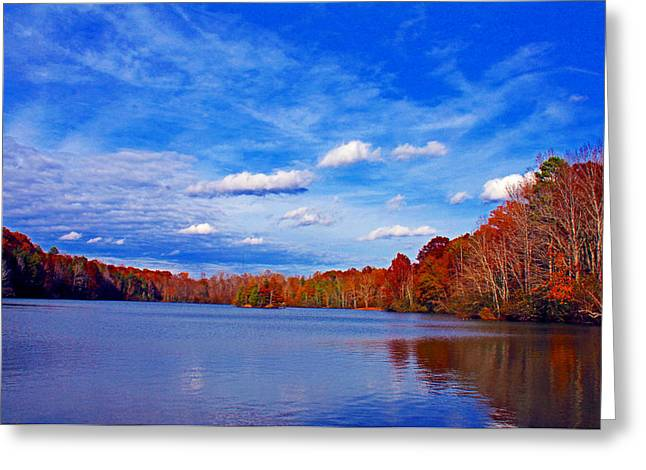 Andrew State Park Lake Greeting Card