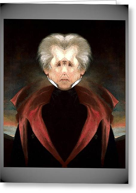 Andrew_jackson Greeting Card
