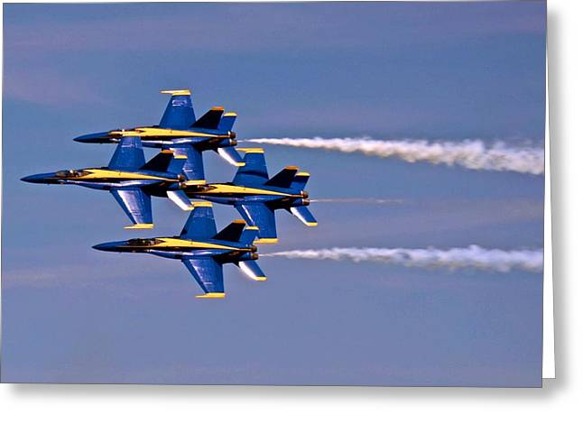 Andrews J B Air Show 11 Greeting Card