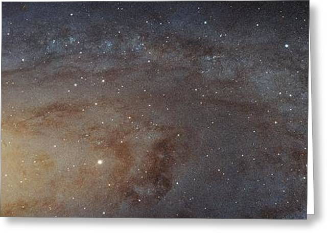 Andromeda Galaxy Greeting Card by Nasa, Esa, J. Dalcanton, B.f. Williams, And L.c. Johnson (u. Of Washington), The Panchromatic Hubble Andromeda Treasury (phat) Team, And R. Gendler