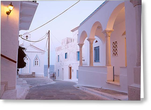Andros, Greece Greeting Card by Panoramic Images