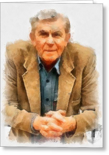 Andy Griffith Greeting Card
