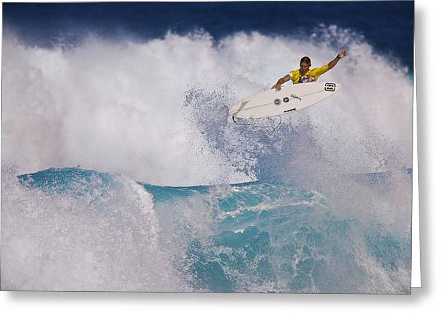 Andy Irons C6j2054 Greeting Card by David Orias