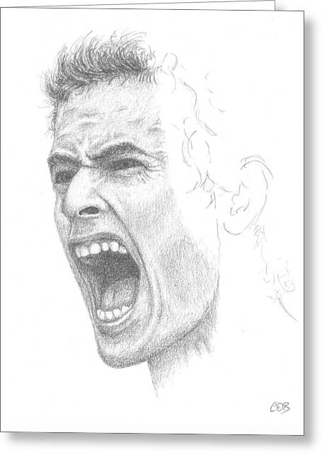 Andy Murray Sketch Greeting Card