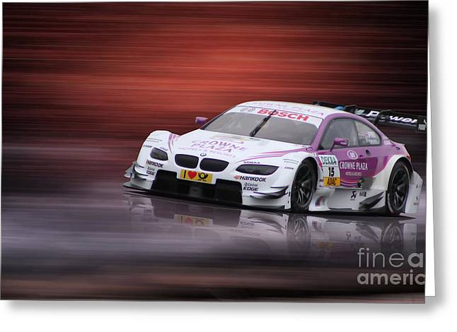 Andy Priaulx M3 Dtm 2012 Greeting Card