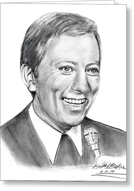 'andywilliams' Greeting Card by Barb Baker