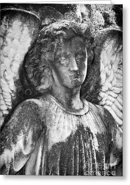 Angel 2 Greeting Card by Carrie Cranwill