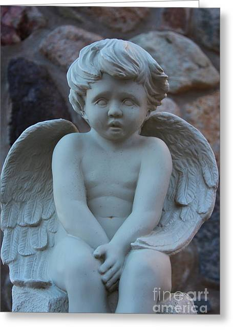 Angel Child Greeting Card