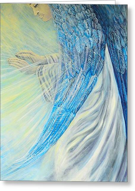 Angel Divine Greeting Card
