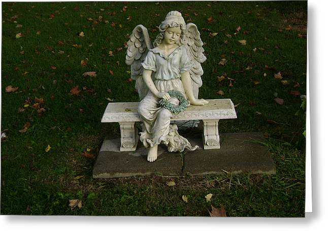 The Angel Is Watching Over Greeting Card