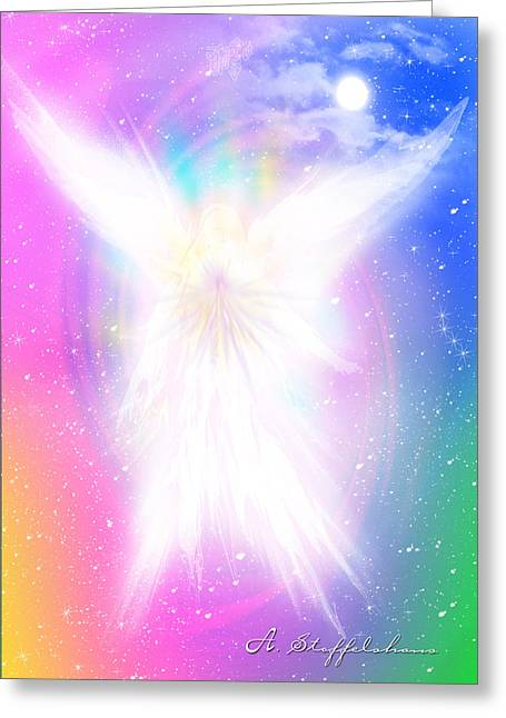 Angel Of Concord Greeting Card by Anderson Stoffelshaus