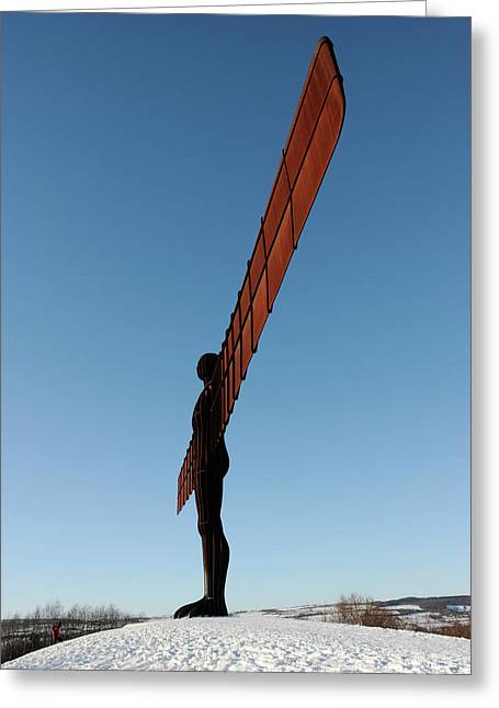 Angel Of The North Greeting Card by Public Health England