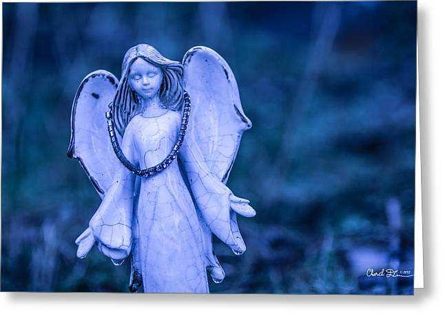 Angel Of The Rain Greeting Card