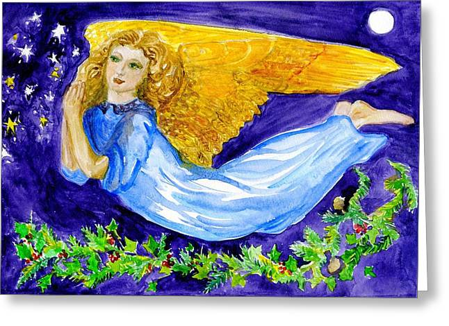 Angel Of The Skies Greeting Card