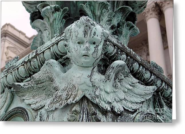 Greeting Card featuring the photograph Angel Wings by Ed Weidman